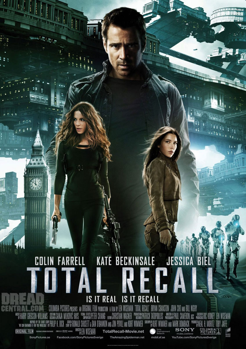 Exclusive Video Interview:  Colin Farrell on Playing Two Heroes, Fighting Kate Beckinsale and More for Total Recall