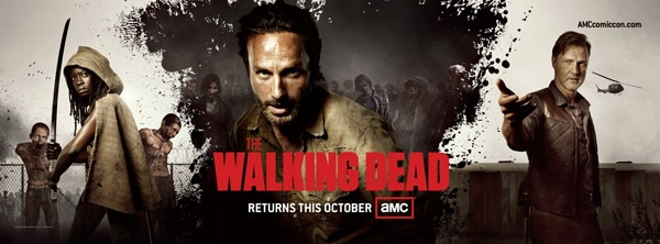 New Walking Dead Season 3 Poster Eats a Few Fans