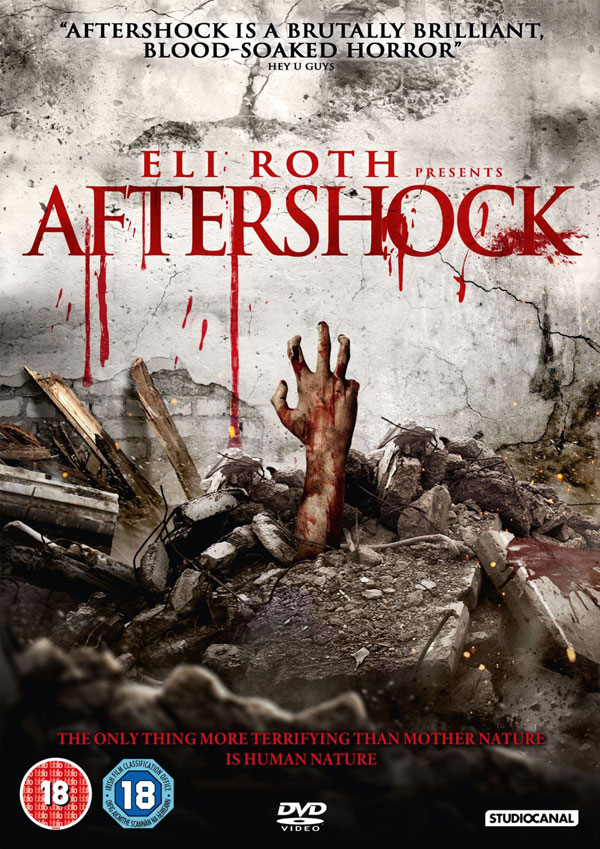 Aftershock UK Blu-ray/DVD