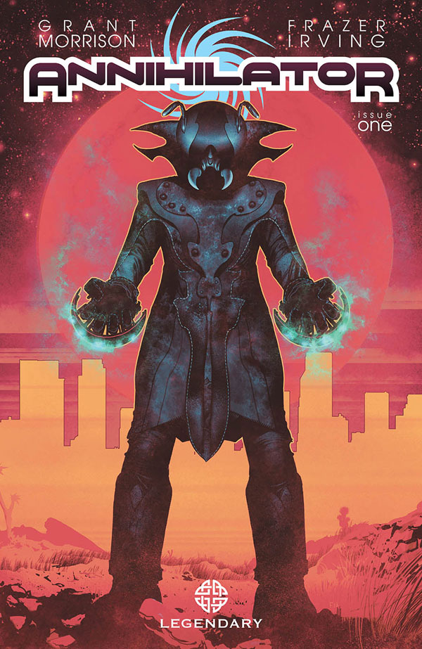 Legendary Releases Frazer Irving's Cover Art for Grant Morrison's Annihilator Issue #1