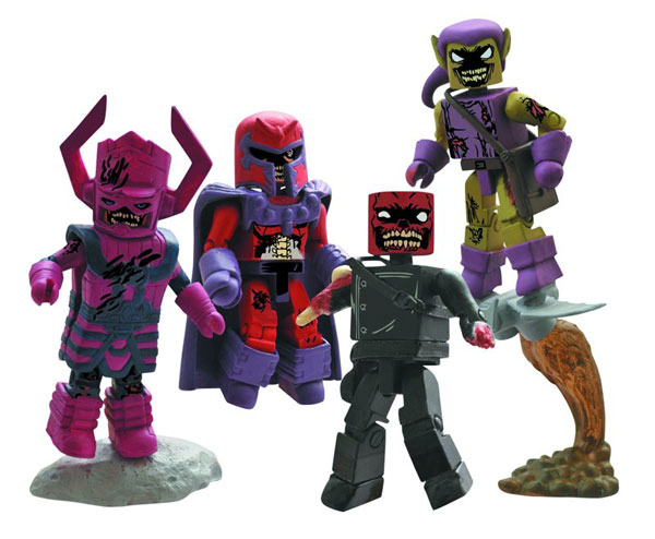 Diamond Select Announces Marvel Zombies Villains Minimates and a Pet Zombie Bottle Opener