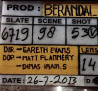 It's a Wrap for The Raid 2: Berandal!