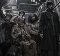 Four Snowpiercer Clips Pull into the Station