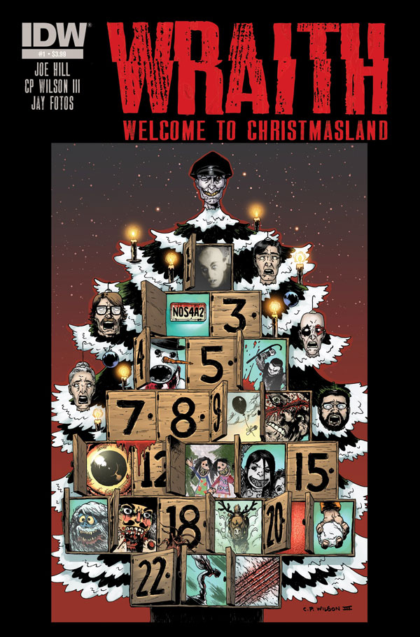 #SDCC 2013: Joe Hill Announces NOS4A2 Prequel Comic Wraith: Welcome to Christmasland