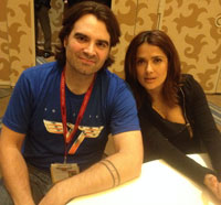 #SDCC14: Joe Lynch and Salma Hayek Talk Everly