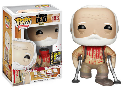#SDCC14: Funko Memorializes The Walking Dead's Hershel Greene in Pop! Vinyl