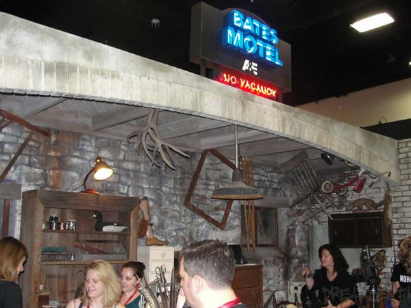 Bates Motel at #SDCC14: Take a Tour of Norman's Taxidermy Workshop; Season 7 Teaser Art