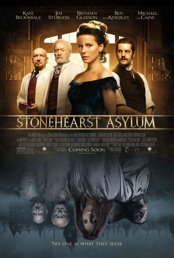 Get Locked Up with the Stonehearst Asylum Trailer and Artwork