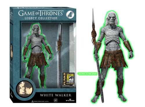 #SDCC14: Funko's Glow-in-the-Dark Game of Throne's White Walker Legacy Figure