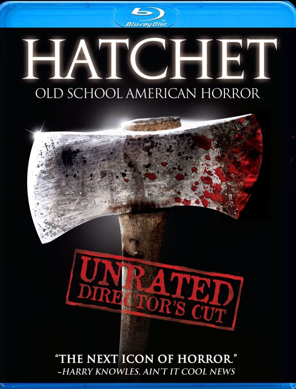 Official Hatchet Blu-ray Specs