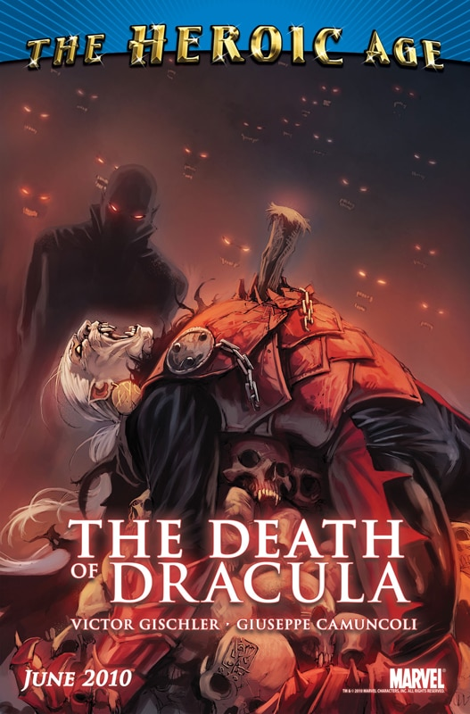 A Preview of Marvel's New Death of Dracula Comic