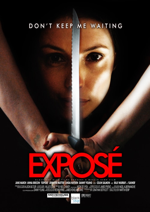 Synopsis, Trailer, and Still from UK Remake of Expose