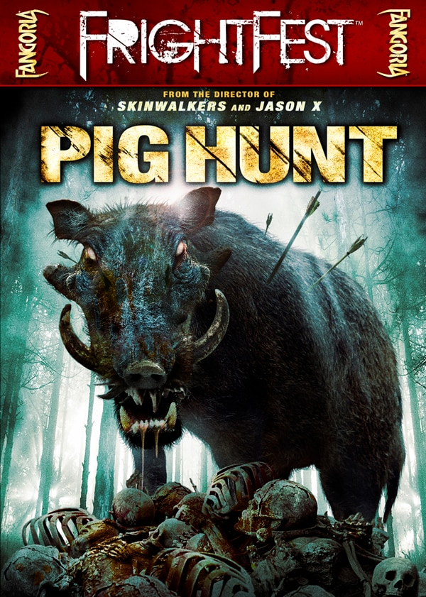 Fangoria FrightFest Presents - Pig Hunt on DVD
