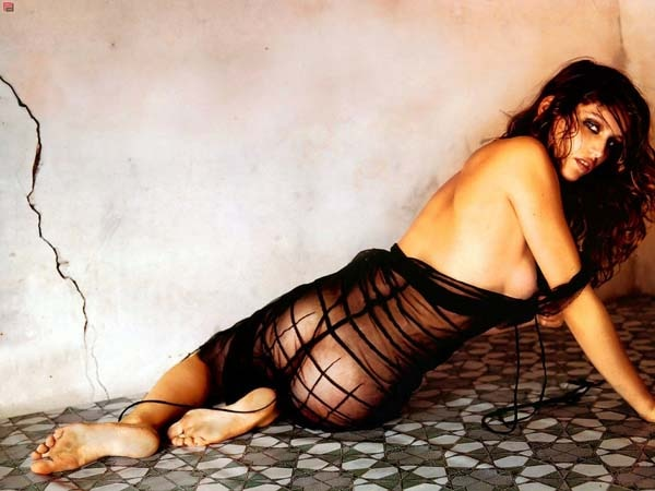 Laetitia Casta Goes Behind the Walls