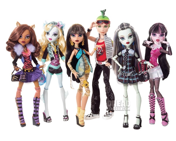Mattel Launches Monster High