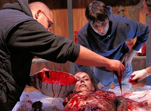 Gruesome Behind-the-Scenes Imagery: In the Mouth of Ubaldo Terzani