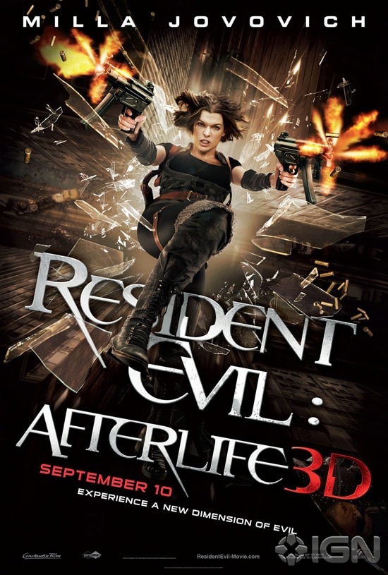 Another New Resident Evil: Afterlife Poster