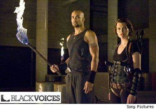 Resident Evil: Afterlife - First Look at Boris Kodjoe