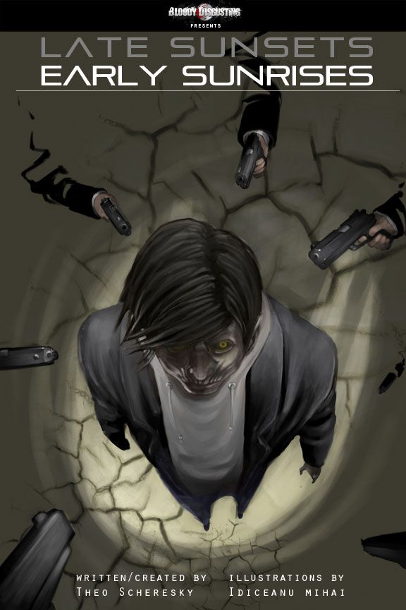 New Free Online Horror Comic Coming - Late Sunsets, Early Sunrises