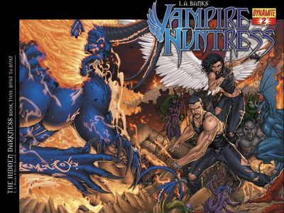 Vampire Huntress: From Bestselling Book Series to Comic Series