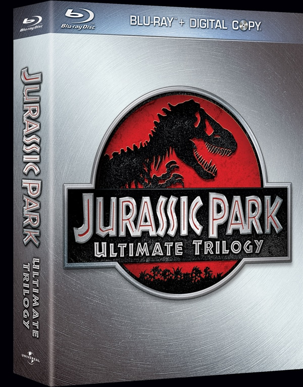 The Jurassic Park Trilogy Roars onto Blu-ray