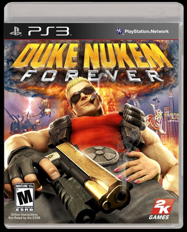 Gaze in Stunned Disbelief at the Duke Nukem Forever Launch Trailer