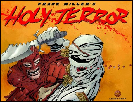 San Diego Comic-Con 2011: Teaser Trailer Debut for Frank Miller's Holy Terror