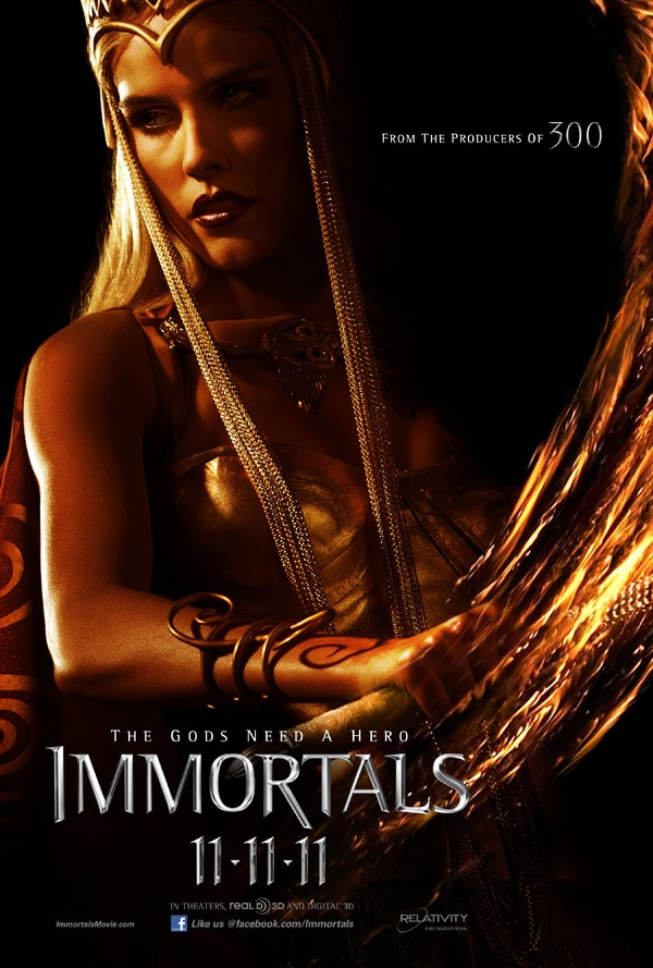 More Immortals Character One-Sheets Released!
