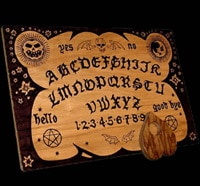 New Ouija Message Spells out S-H-I-T-C-A-N-N-E-D