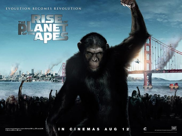New Rise of the Planet of the Apes Image Gets Inquisitive