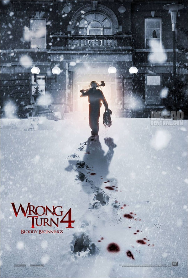 Get Head from the New Wrong Turn 4:  Bloody Beginnings One-Sheet