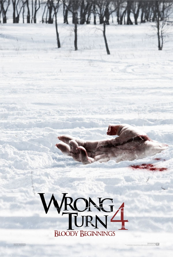 Wrong Turn 4 Gets a Teaser Poster, Franchise Trailer, and Expanded Title