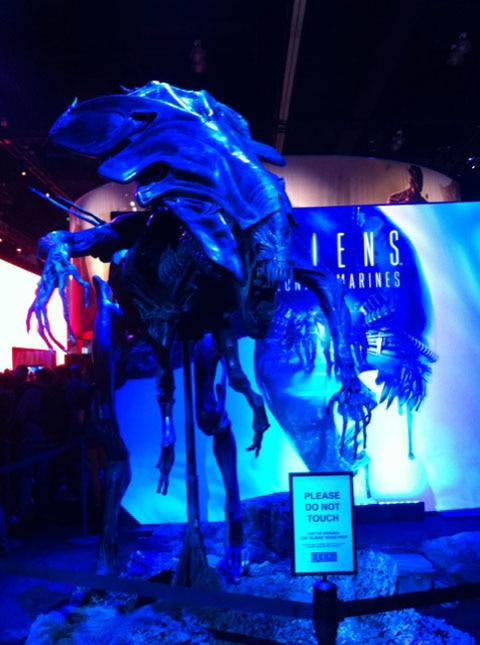 E3 2012: Aliens: Colonial Marines Takes a Bite out of E3