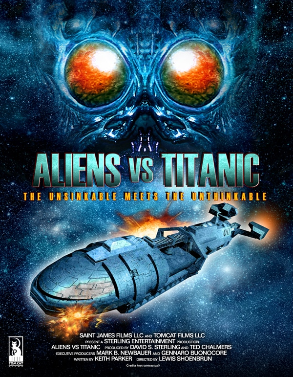 The Unsinkable Meets the Unbelievable in Aliens vs. Titanic