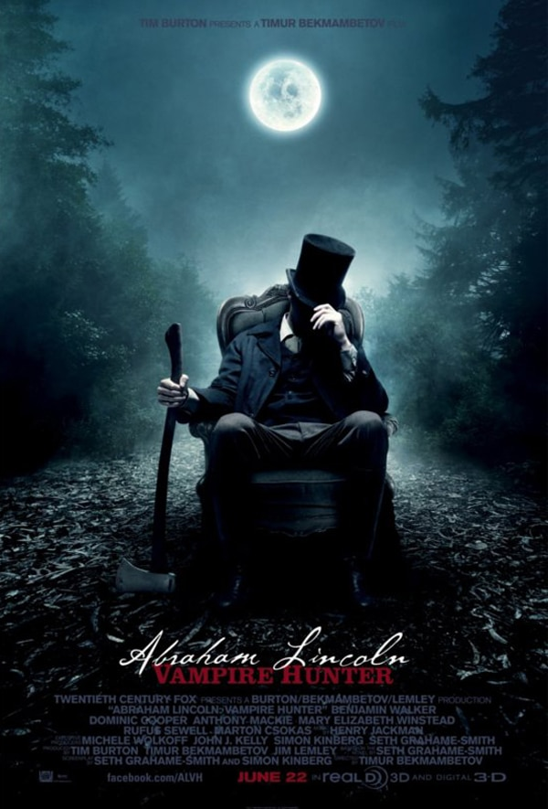 Win a Copy of Director's Cut: The Art of Abraham Lincoln: Vampire Hunter