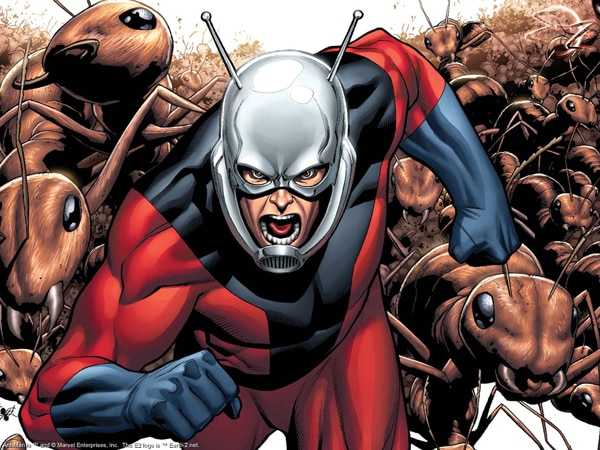 Edgar Wright and Joe Cornish Swatting Around Ant-Man Movie