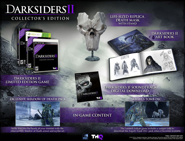 Darksiders II Shows Off Its Limited Edition Pre-Orders