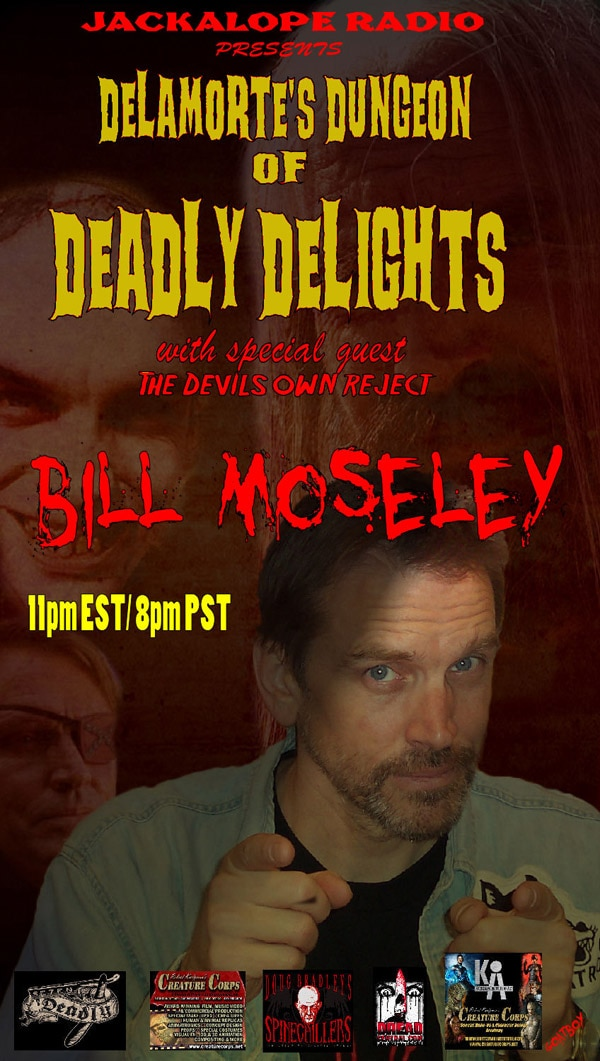 Bill Moseley Enters The Dungeon of Deadly Delights