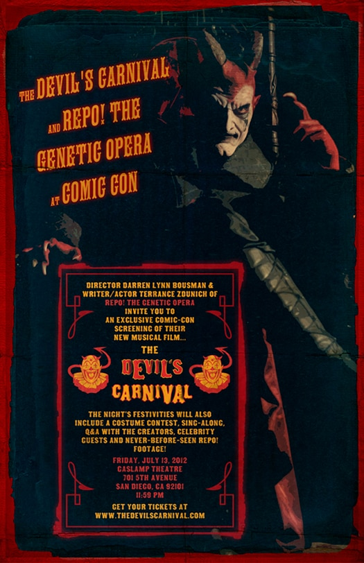 The Devil's Carnival Kicking Off Another Road Tour at the San Diego Comic-Con