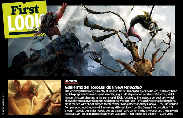 New Look at Guillermo del Toro's Pinnochio (click for larger image)