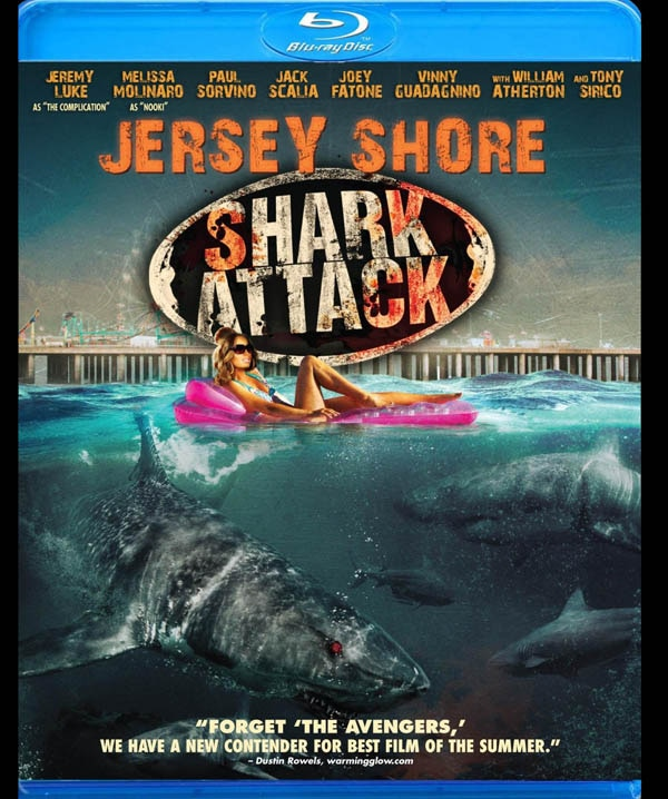 Jersey Shore Shark Attack Takes a Bite out of Home Video