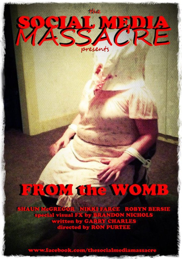 Director Ron Purtee Revisits The Social Media Massacre with From the Womb