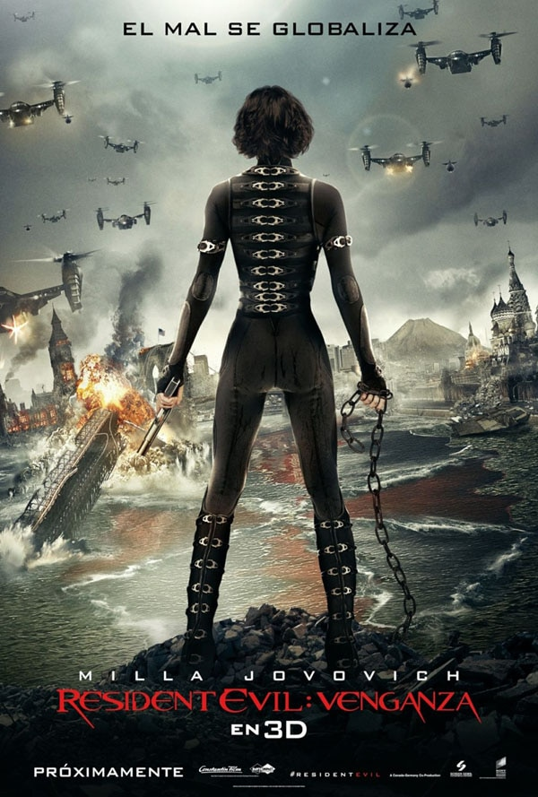 International Resident Evil: Retribution Artwork Home to Much Destruction
