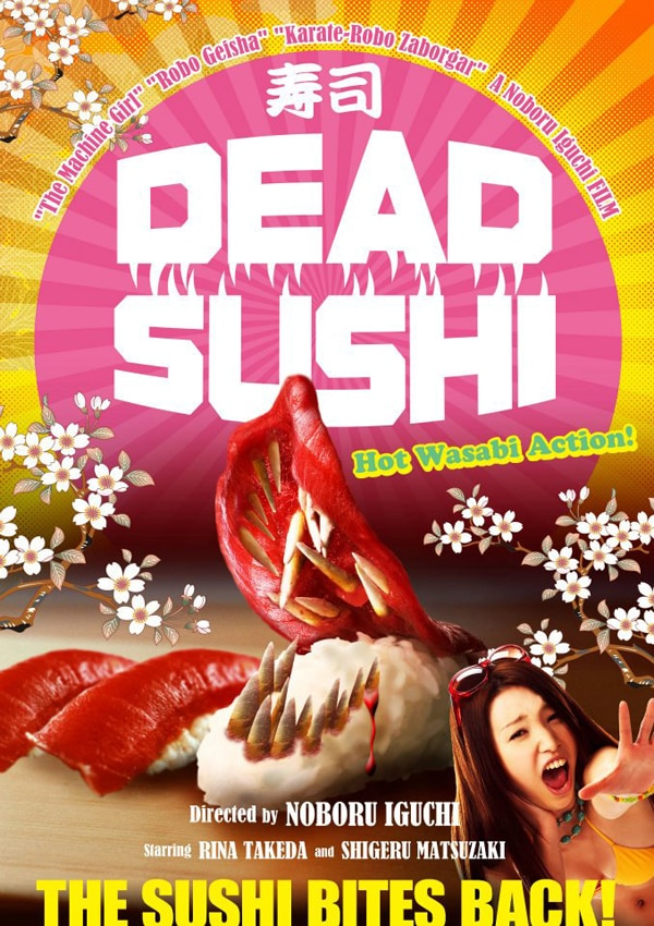 Hot Wasabi Action Comes to Fantasia with Dead Sushi