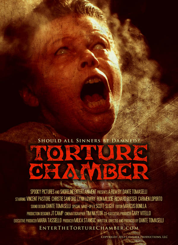 Two New Posters for Torture Chamber