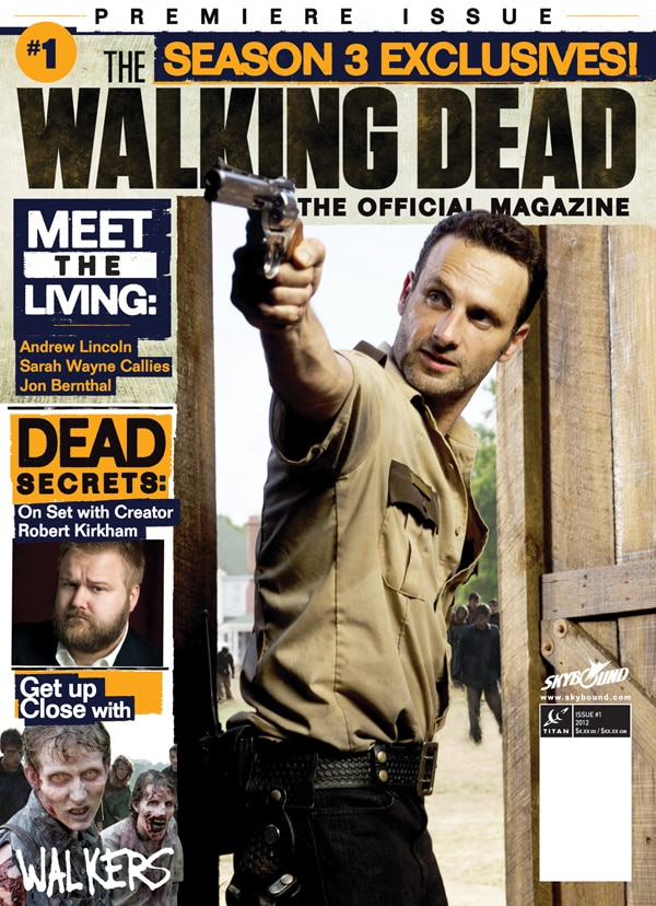 Charlie Adlard's Alternative Issue #1 Walking Dead Magazine Cover