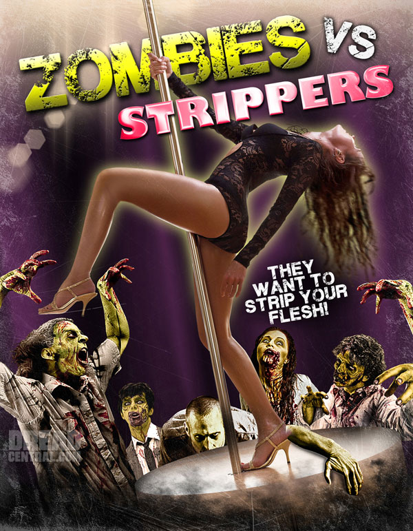 A Comic Approach to Full Moon's Zombies vs. Strippers