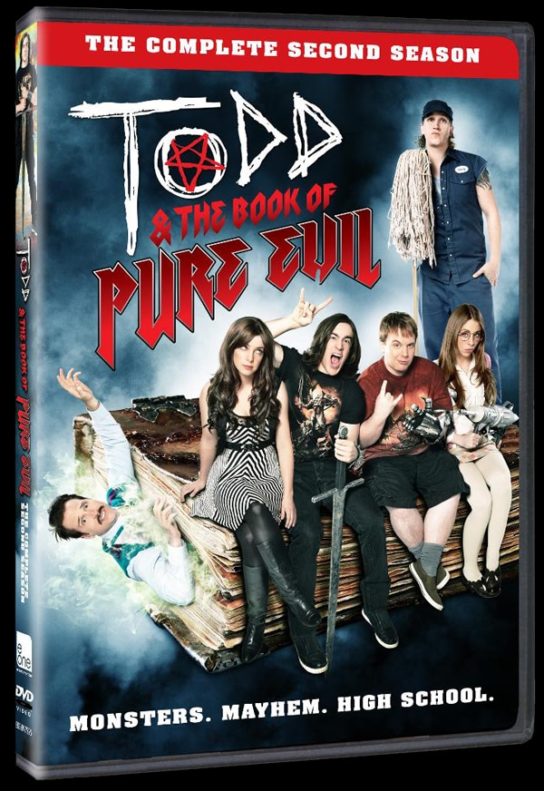 Todd & the Book of Pure Evil Season 2 Finally Hitting DVD on June 25th