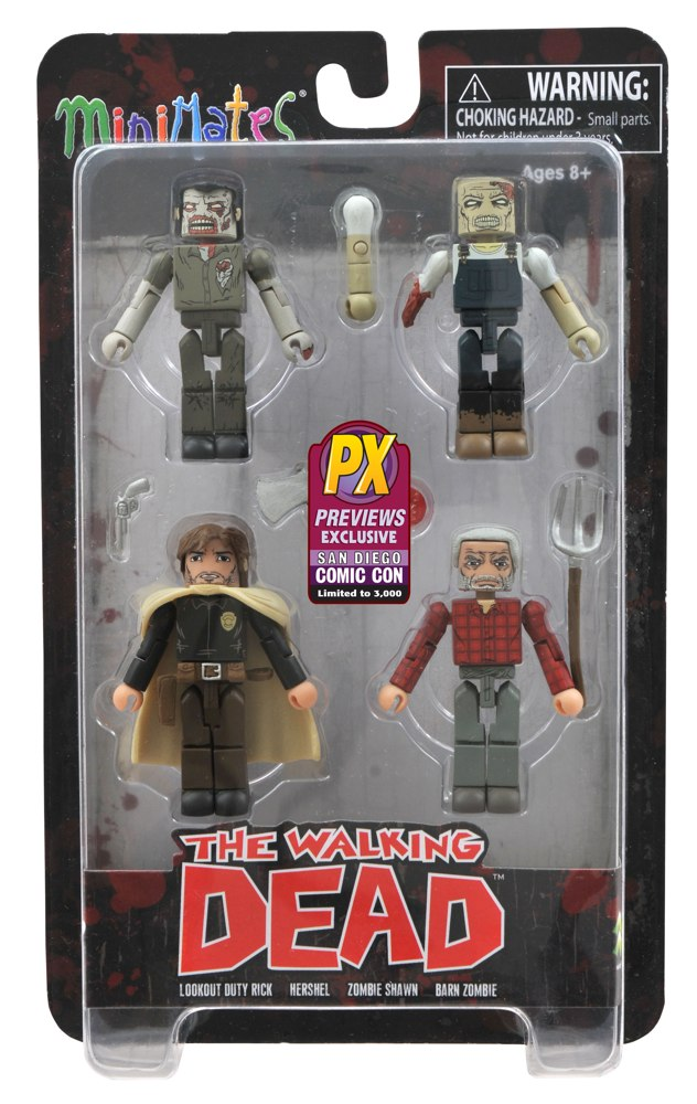 San Diego Comic-Con 2013: Diamond Select Bringing Hershel's Farm Minimates to the Show