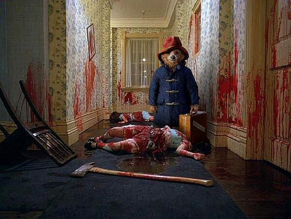 #CreepyPaddington